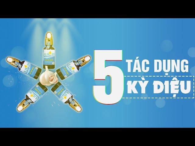 5 Tác dụng kỳ diệu của Tinh dầu tỏi Y Minh