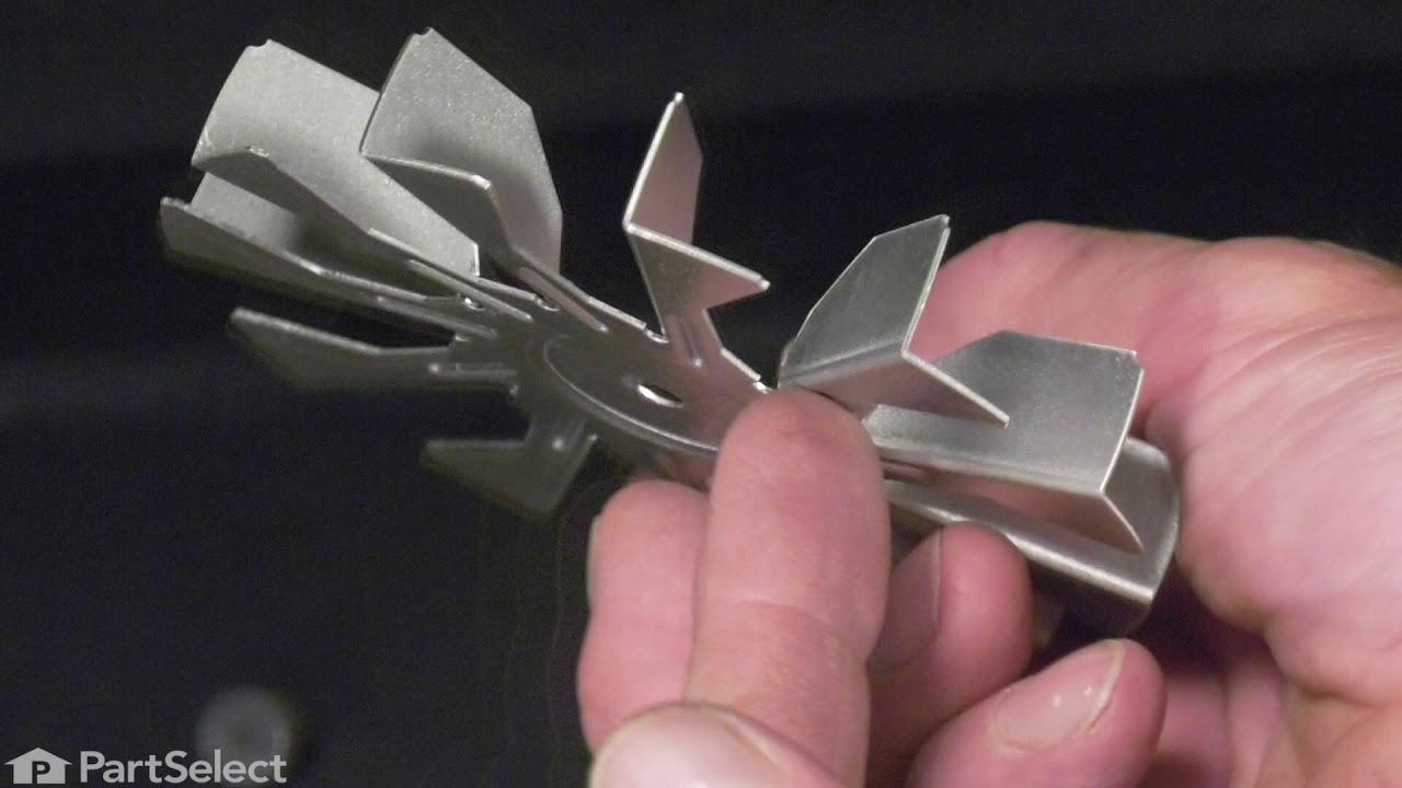 Replacing your Frigidaire Range Convection Fan Blade