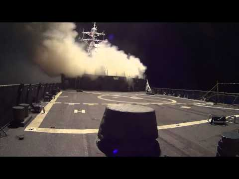 US Navy Launches Tomahawk Missiles Against ISIS In Syria