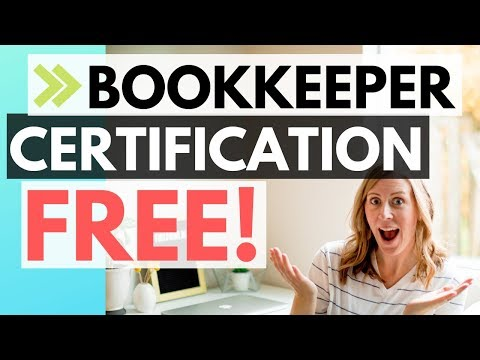 FAST and FREE certification for bookkeepers (Quickbooks Online ...