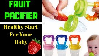 Baby Fruit Pacifier Feeder/ Give Your Baby A Healthy Start In Life