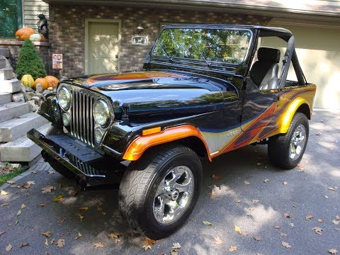Video of 1983 Jeep CJ7 located in Wisconsin Offered by a Private Seller - KPJM