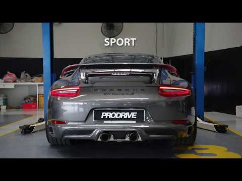 The iPE Exhaust for Porsche 991.2 Carrera S
