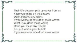 Brand X - Don't Make Waves Lyrics
