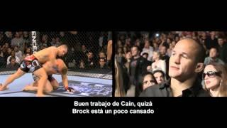 Junior Dos Santos comenta UFC 121 Lesnar vs Velasquez