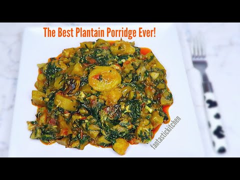 Best of all! Healthy, nutritious and iron packed plantain porridge 😋👌
