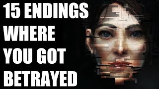 15 Video Game Ending Scenarios Where The Player Got Betrayed