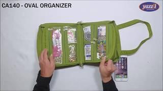 CA140 Oval Craft Organizer | Yazzii Craft Bags