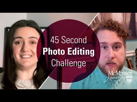 Watch Digital Skills Series: 45-Second Photo-Editing Challenge on Youtube.