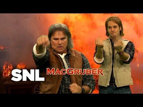 RIchard Dean Anderson en MacGruber (Saturday NIght live)