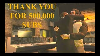 Thank You For 500,000 Subscribers!