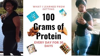 I Got 100g Protein for 30 Days...This is What Happened!