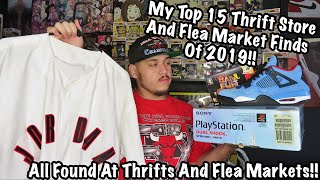 TOP 15 THRIFT STORE AND FLEA MARKET FINDS OF 2019!!!