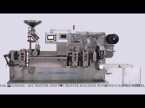 Alu-Alu Blister Packing Machine