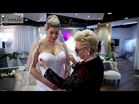 XL-Hochzeitskleid macht dich schlank und sexy