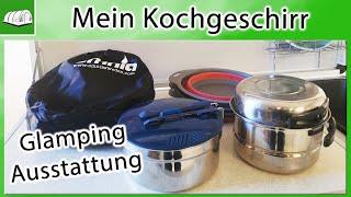 Mein Kochgeschirr fürs Camping | Glamping | zelten mit Kind | Ausstattung