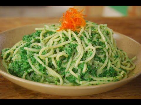 Creamy Spinach Pasta | New Season | Cooksmart | Sanjeev Kapoor Khazana