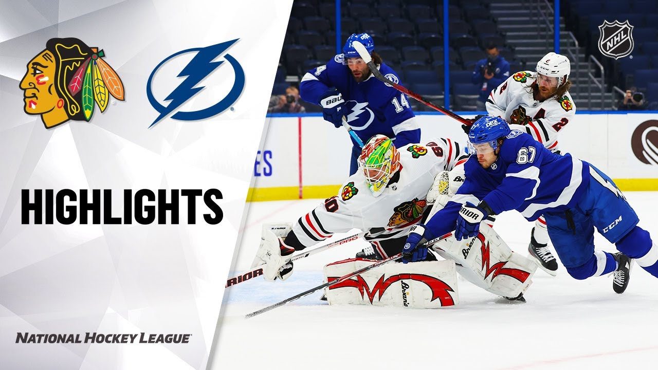 Blackhawks vs Lightning | Friday, January 15, 2021