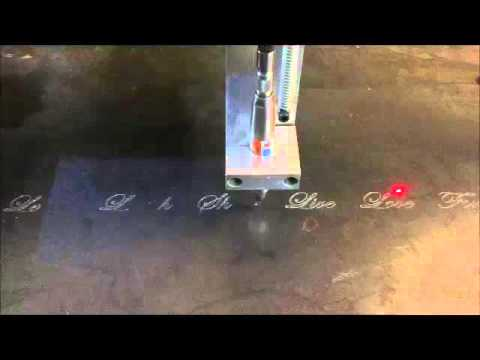 ShopSabre CNC Plate Marking Videovideo thumb
