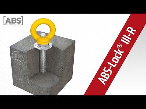 Kompakte Video-Präsentation zum Sekuranten ABS-Lock III-R-B.