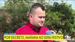 NO HABRÁ FESTIVO DE REYES EN MANÍ CASANARE