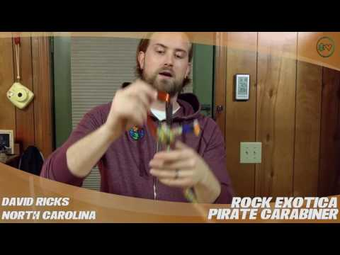 Rock Exotica Pirate Carabiner – TreeStuff.com Customer David Ricks Review In The Field