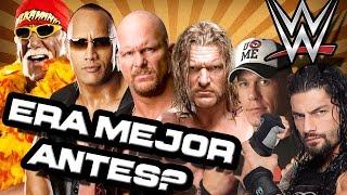 ¿LA WWE/WWF DE ANTES ERA MEJOR QUE LA DE AHORA? - Análisis