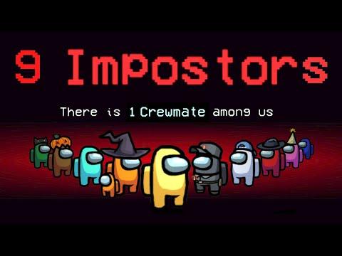 โหมดใหม่ Impostors 9 คน! - Among Us | พี่เมย์
