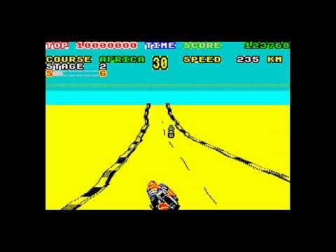 Super Hang-On ZX Spectrum
