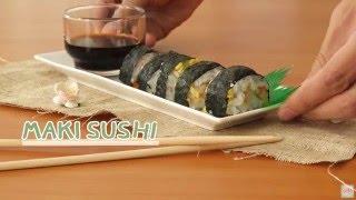 วิธีทำ 'ข้าวห่อสาหร่าย(Maki sushi)' ด้วยอุปกรณ์ Daiso 60 บาท