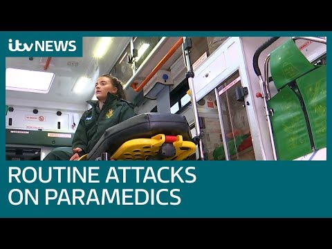 London paramedic sexually assaulted by patient reveals scale of abuse | ITV News