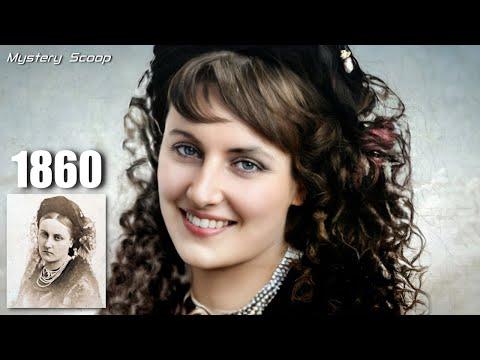 Lachende portretten uit de geschiedenis V2  Ingekleurd en geanimeerd