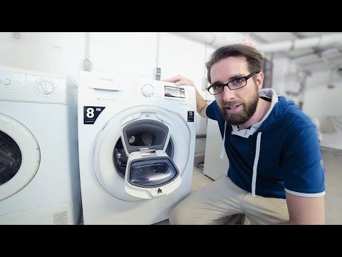 Getestet von Euronics - Produkttest Samsung AddWash WW6500 Waschmaschine
