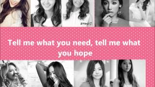 Girl's Generation/ SNSD genie japanese version lyrics