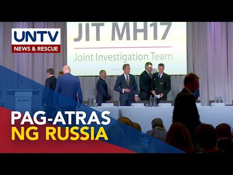 [UNTV]  Australia at Netherlands, kinundena ang Russia sa pag-atras sa MH17 flight crash talks
