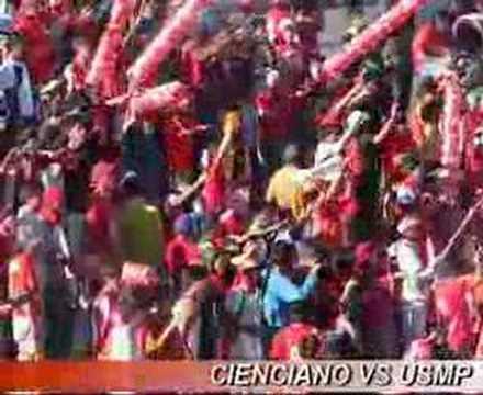 """""""www.fvria-roja.com CC vs USMP 02"""" Barra: Fvria Roja • Club: Cienciano"""