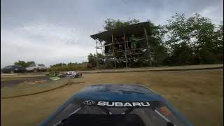 Rally rc car on fpv