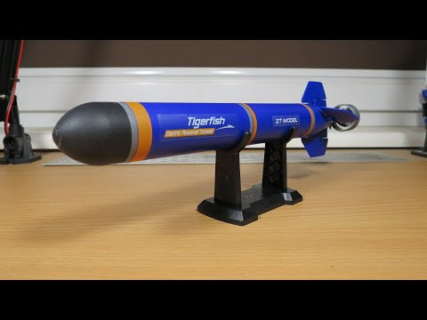 Electric Powered Torpedo !! DIY KIT for kids :)