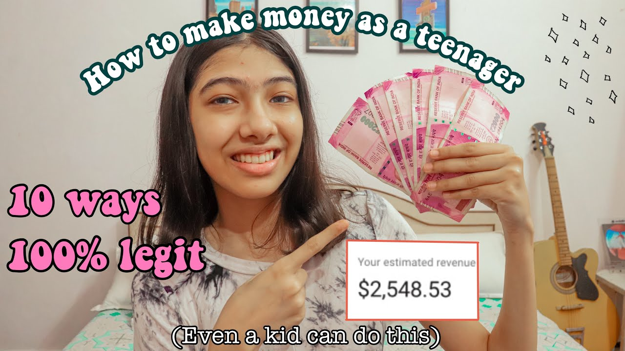 how to earn money online with absolutely no financial investment|How to earn money in the house for teens 2020 (India) thumbnail