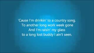 Cole Swindell 'Ain't Worth The Whiskey' - Lyrics