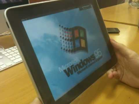 Windows 95 Running On An iPad: What Hath God Wrought?