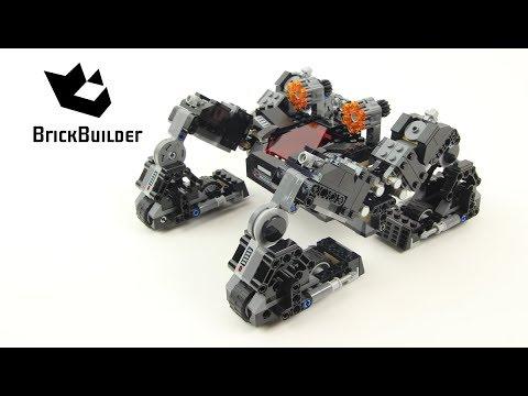 Vidéo LEGO DC Comics Super Heroes 76086 : Le Knightcrawler