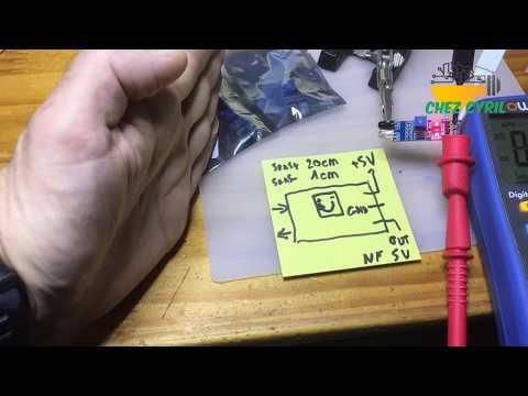 Detecteur d\'obstacle par infrarouge pour bricolage et arduino
