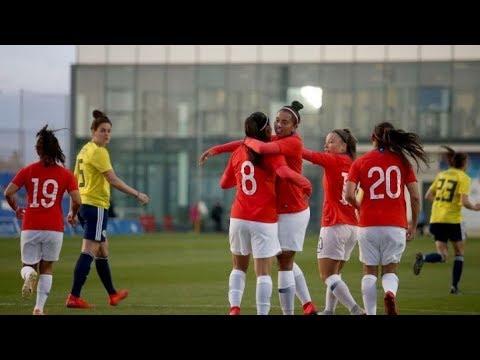 La Roja Femenina | Chile vs Colombia