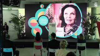 """S.M. la Reina preside el acto de clausura del """"Santander WomenNOW 2021"""""""