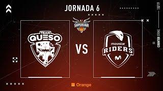 Team Queso VS Movistar Riders   Jornada 6   Temporada 2018/2019