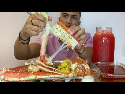 King Crab & Lobster Seafood Boil