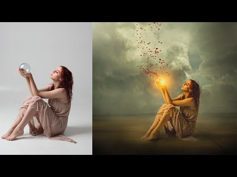 Photoshop Tutorial | Manipulation Workflow and shading