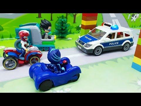 Мультики для детей.Мультик с игрушками про машинки -Победила дружба!Щенячий патруль - Герои в масках онлайн видео