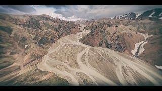Смотреть онлайн Панорамный вид Исландии 360 градусов